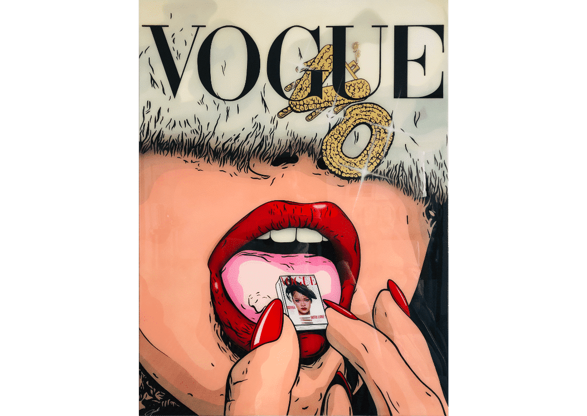 Prints - Addicted to Vogue - Art Made by Gab