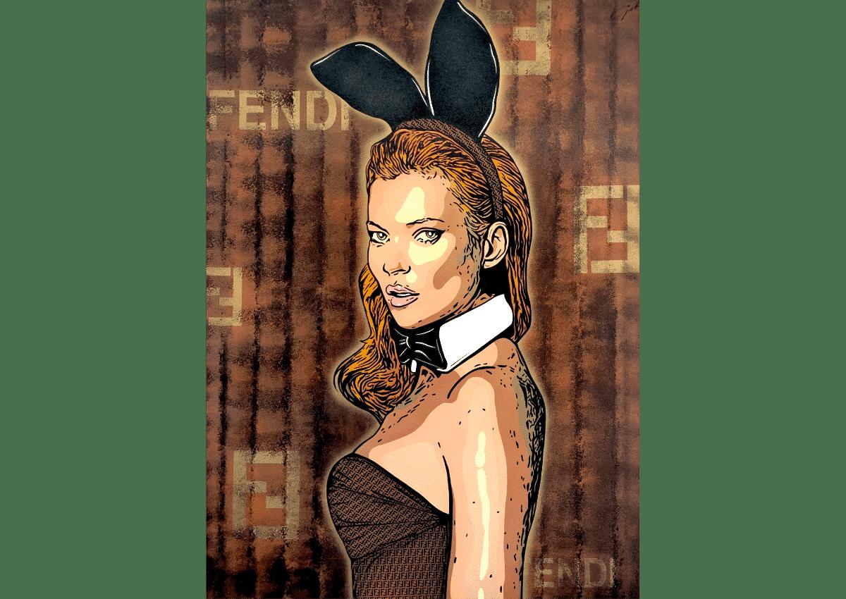 Prints - Fendi Kate - Art Made by Gab