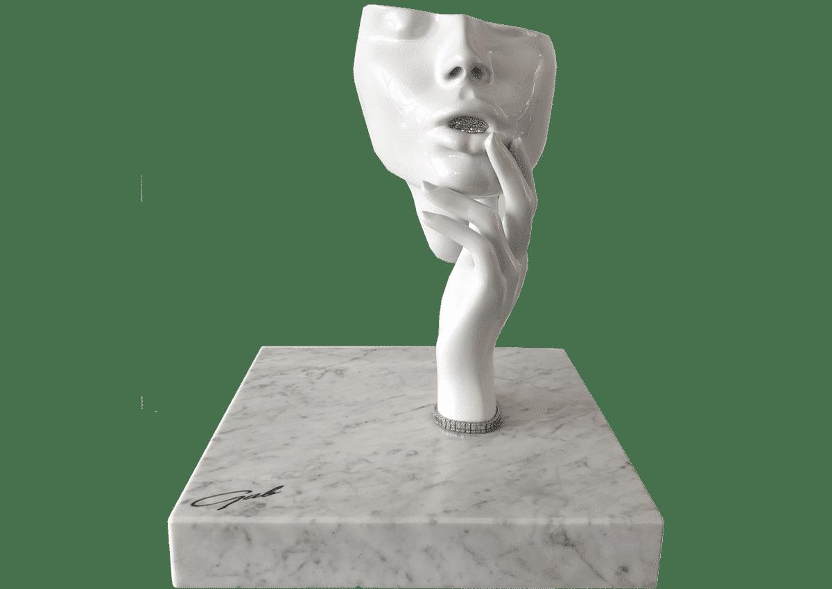 Sculptures - Kiss my Diamonds Teeth Diamonds - Art Made by Gab