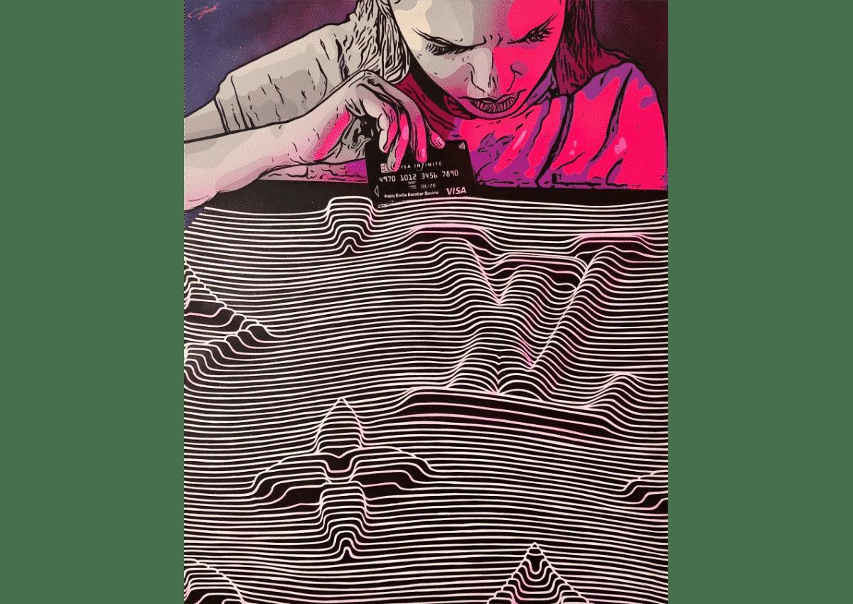 Prints - LV Addiction - Art Made by Gab