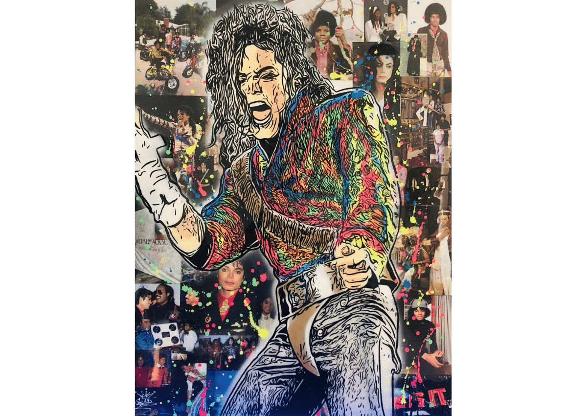 Tableaux - Michael - Art Made by Gab