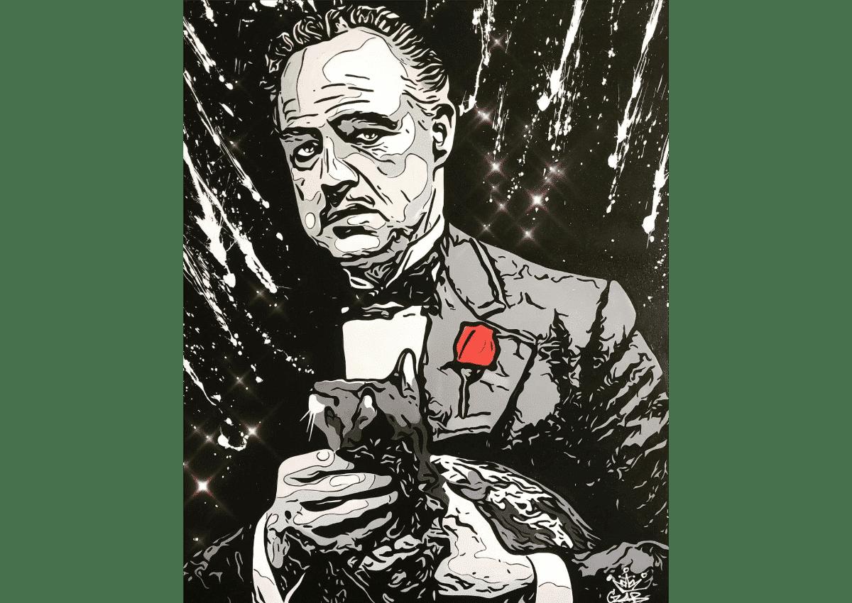 Prints - Vito Corleone - Art Made by Gab